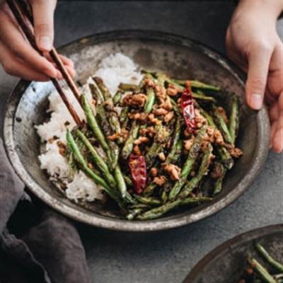 Đậu que và những món ăn xanh mát