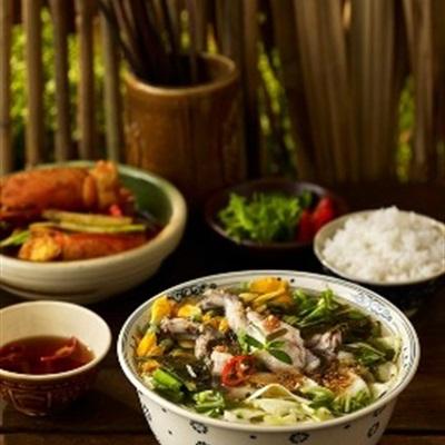 Canh rau cho Sài Gòn ngày nắng nóng