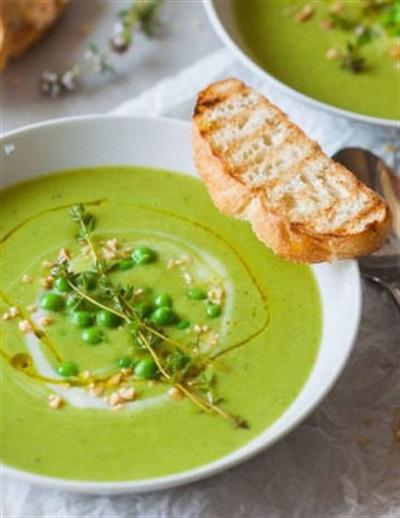 Các món ăn giảm cân từ đậu Hà Lan