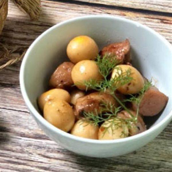 Trứng cút và những món ngộ nghĩnh