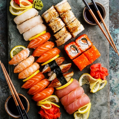 Học làm sushi và sashimi