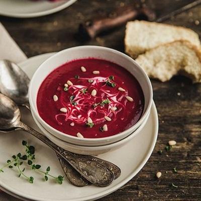 Biến củ dền đỏ thành món ăn bổ dưỡng