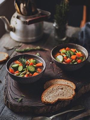 Canh súp healthy giảm cân