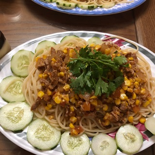 Mì ý sốt thịt bò và cà chua