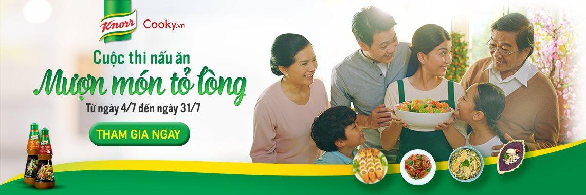 Mượn món tỏ lòng cùng Knorr