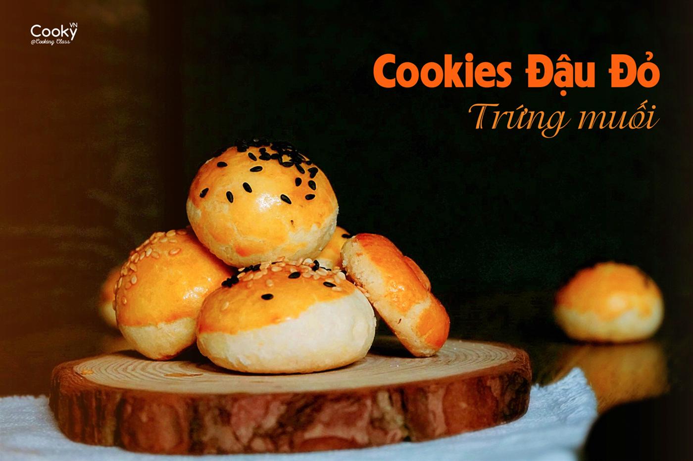 Lớp Học Làm Bánh: Cookies Nhân Đậu - Trứng Muối