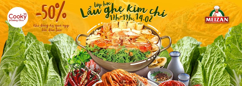 Lớp Học Nấu Ăn: Lẩu Ghẹ Kim Chi