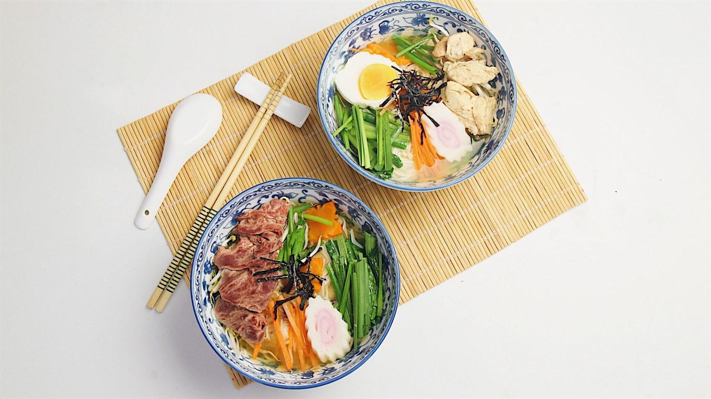 Lớp Học Nấu Ăn: Mì Ramen Nhật
