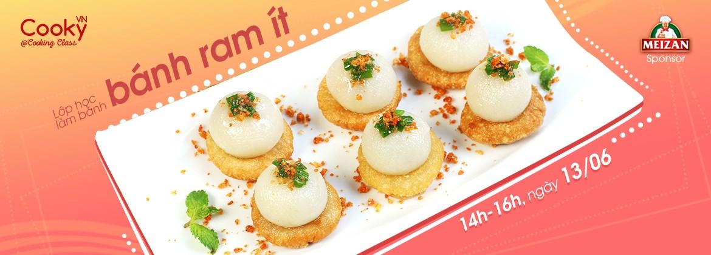 Lớp Học Nấu Ăn: Bánh Ram Ít