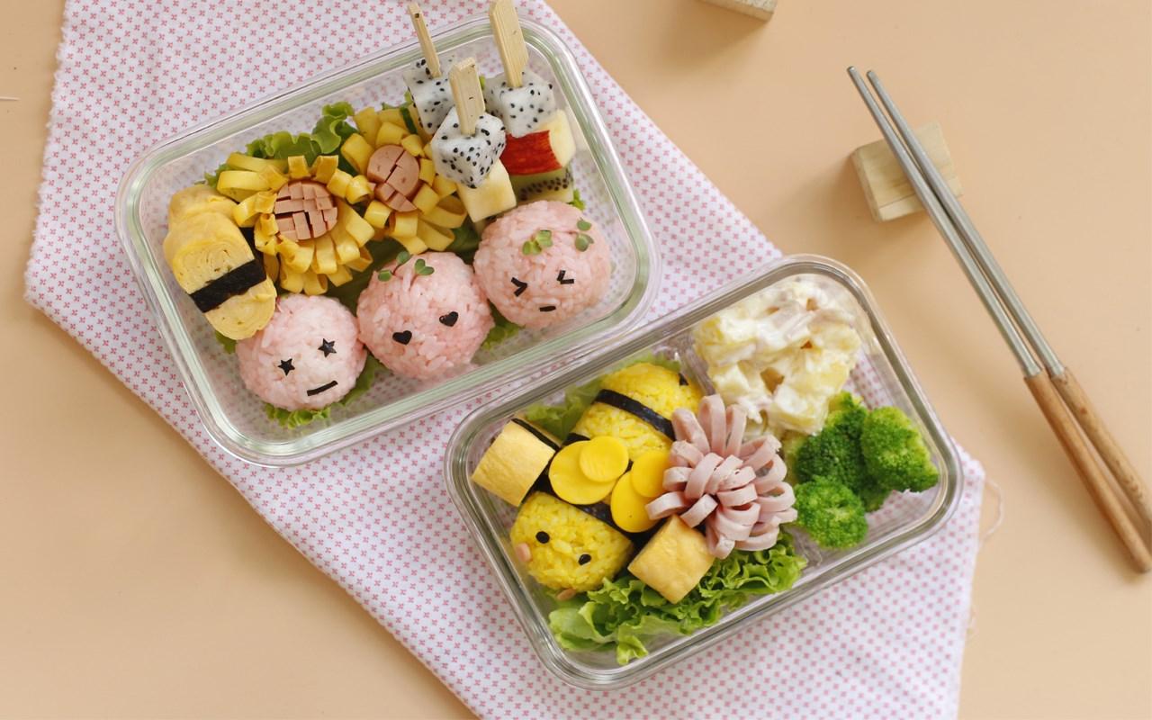Dinh Dưỡng - Ẩm Thực Nhật : Cơm Nắm Bento