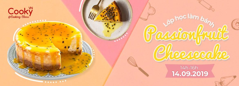 Lớp Học Làm Bánh: Passion Fruit Cheesecake