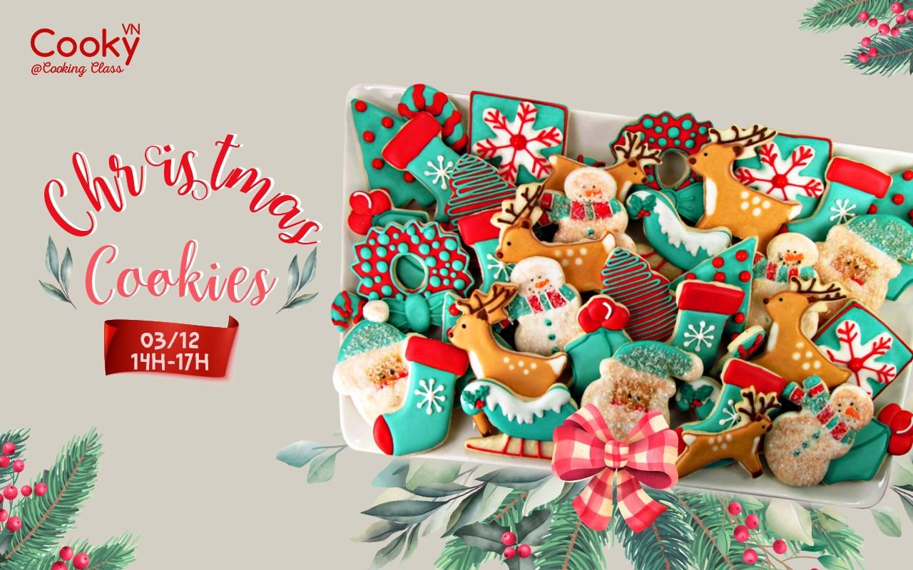 Lớp Học Làm Bánh: Cookies Giáng Sinh