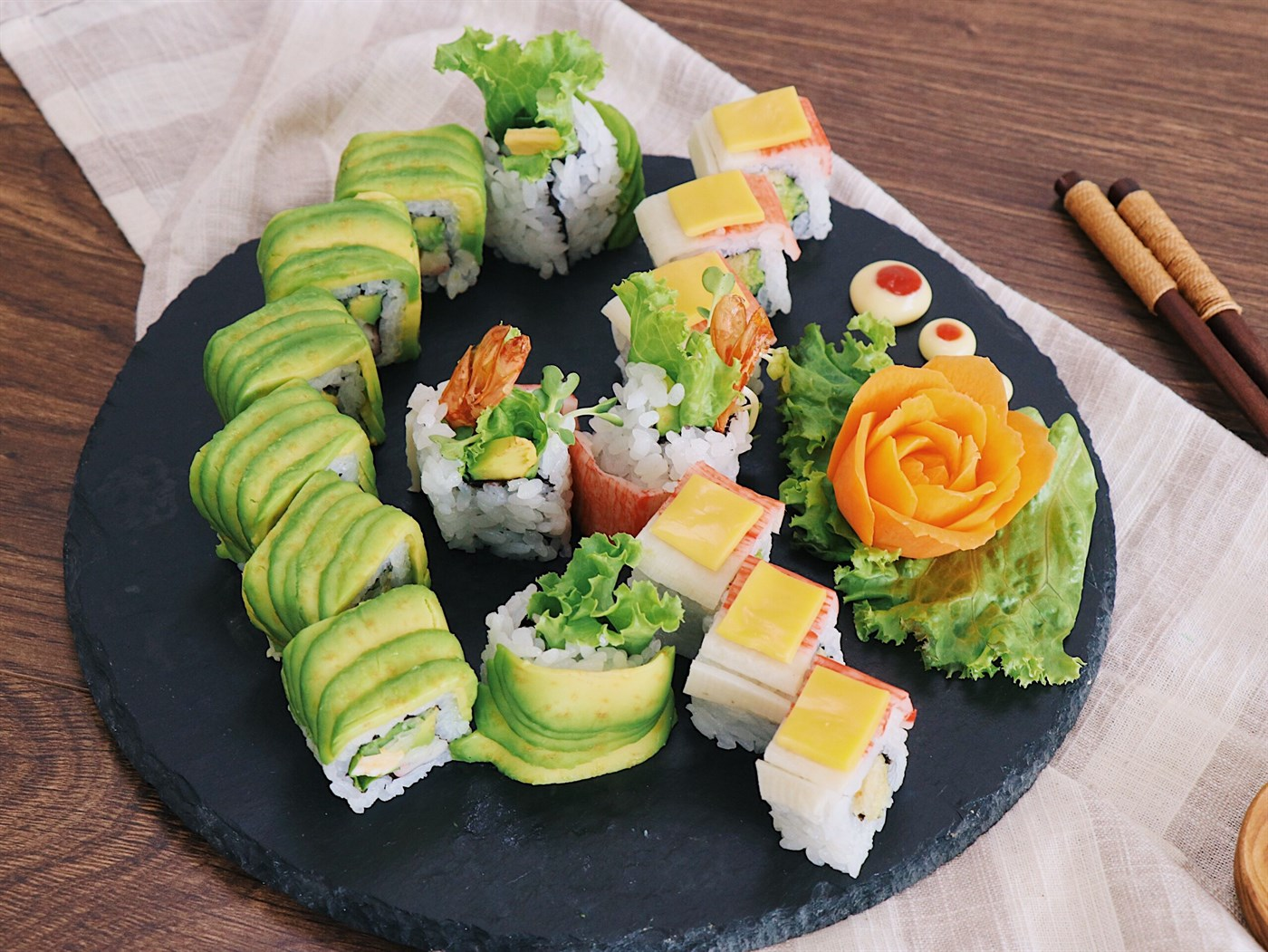 Món Á - Ẩm Thực Nhật Bản: Maki Và Nigiri