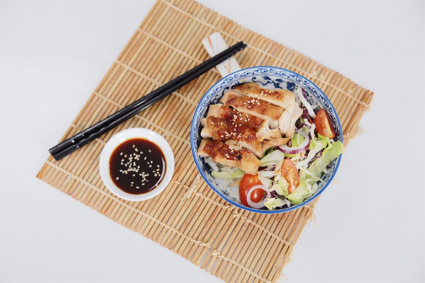 Ẩm Thực Nhật Bản: Cơm Gà Sốt Teriyaki