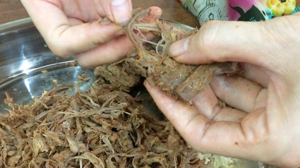 Cách làm khô bò sợi