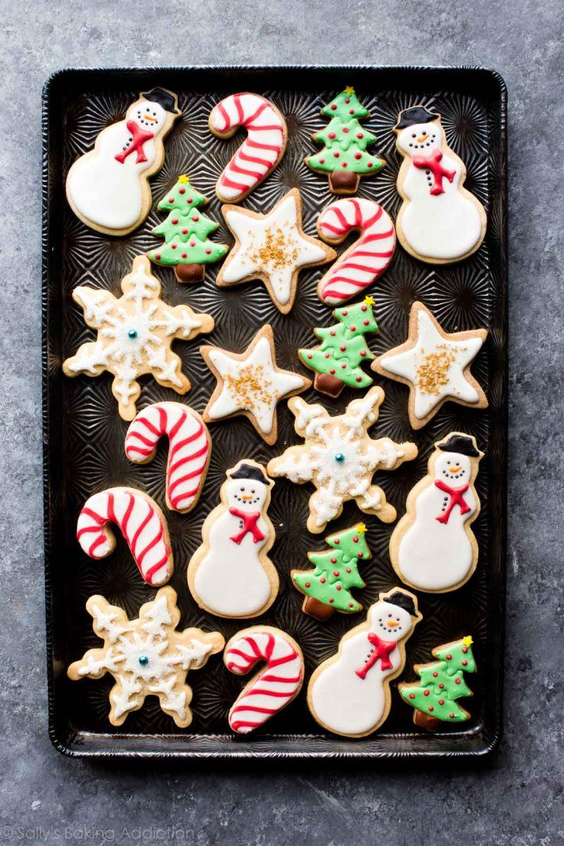 lớp học làm bánh christmas cookies