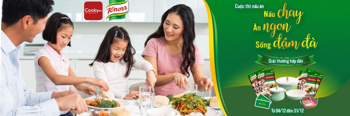 Cuộc thi nấu chay, ăn ngon, sống đậm đà cùng Knorr