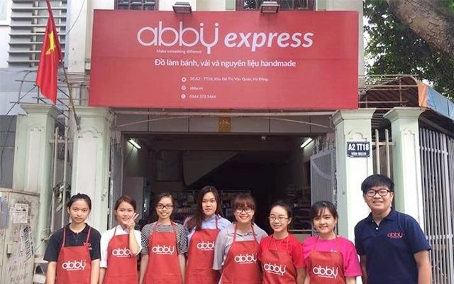Cửa hàng dụng cụ và nguyên liệu bánh abby - Văn Quán