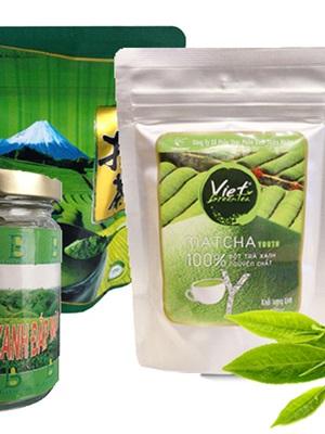 Bột trà xanh - Trịnh Đình Trọng