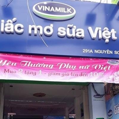 Vinamilk - 291A Nguyễn Sơn