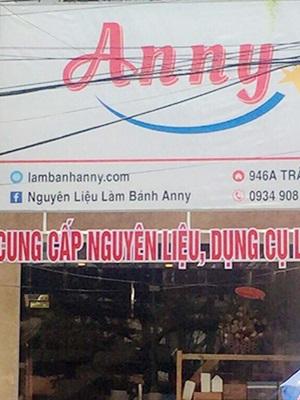 Nguyên Liệu Làm Bánh Anny - 402/10 lê duẩn