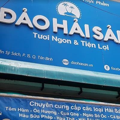 Đảo hải sản - A9 Nguyễn Sỹ Sách