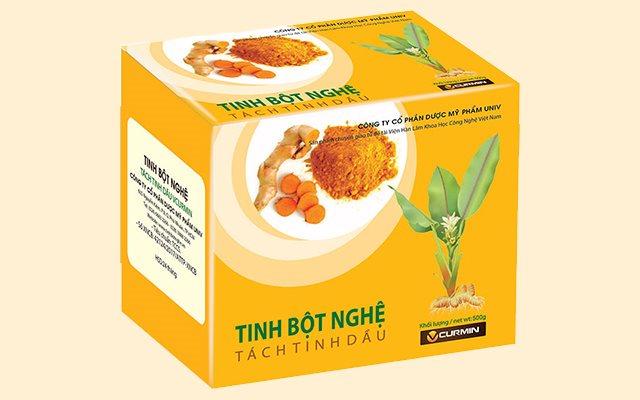 Tinh bột nghệ tách tinh dầu Vcurmin - 177 Đồng Khởi