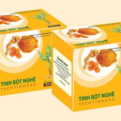 Tinh bột nghệ tách tinh dầu Vcurmin - 59 Ngô thì nhậm