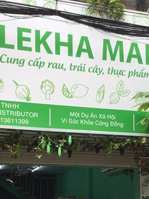 Thực phẩm sạch Organicfood LeKha Mart - Cư xá Bình Thới