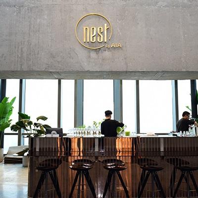 """Văn phòng """"Nest by AIA"""" - Tầng 75 - 76  Landmark 81"""