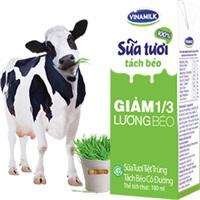Sữa tươi tách béo Vinamilk