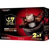 Cà phê G7 2in1 - Hộp 15 gói
