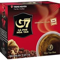Cà phê G7 hòa tan đen - Hộp 15 gói