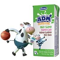 Sữa tiệt trùng bổ sung vi chất ADM+ của Vinamilk