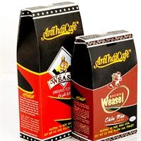 Combo 200gr cà phê vua chồn và 200gr cà phê chồn nâu – king weasel