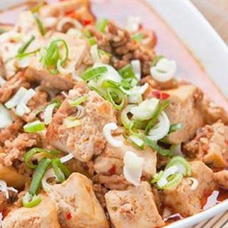 Cách làm đậu hũ non sốt thịt