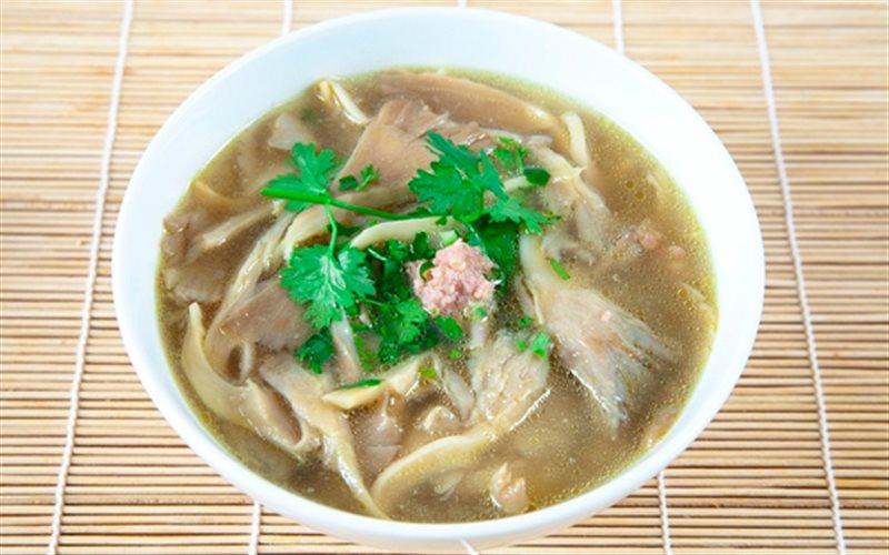 Cách Nấu Canh Nấm Bào Ngư Thịt Băm