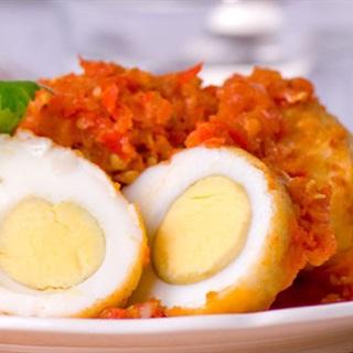 Cách làm trứng chiên ớt