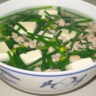 Cách Nấu Canh Đậu Hũ Nấu Hẹ | Thơm Ngon Đưa Cơm