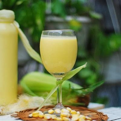 Sữa bắp cho bữa sáng cả nhà