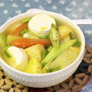 Cách làm Canh Chua Chay thanh ngọt nhanh gọn cho cả nhà