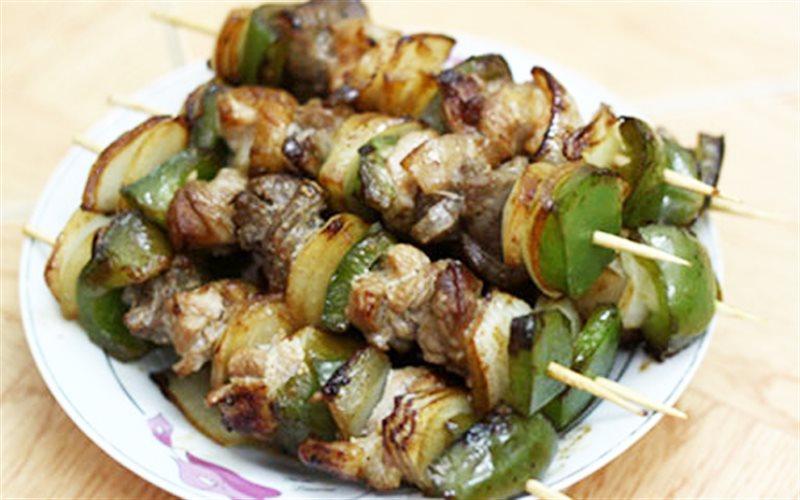 Cách làm Thịt Xiên Chiên thơm lừng cho bữa tiệc gia đình