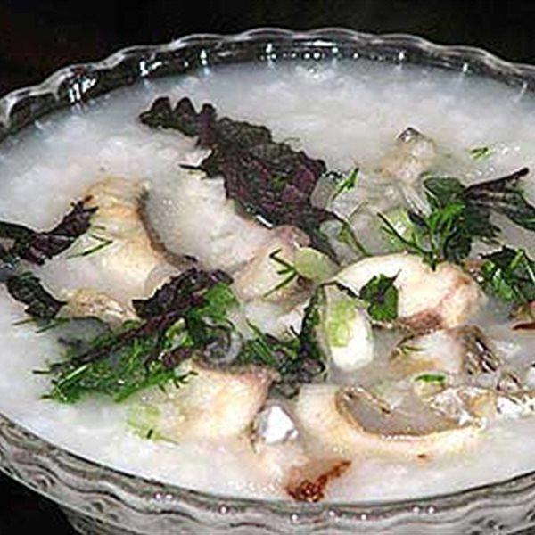 Các món cháo nấu từ các loại cá khác nhau