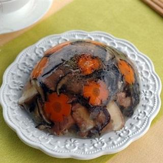 Cách nấu Thịt Nấu Đông với chân giò và tai heo ngon tại nhà