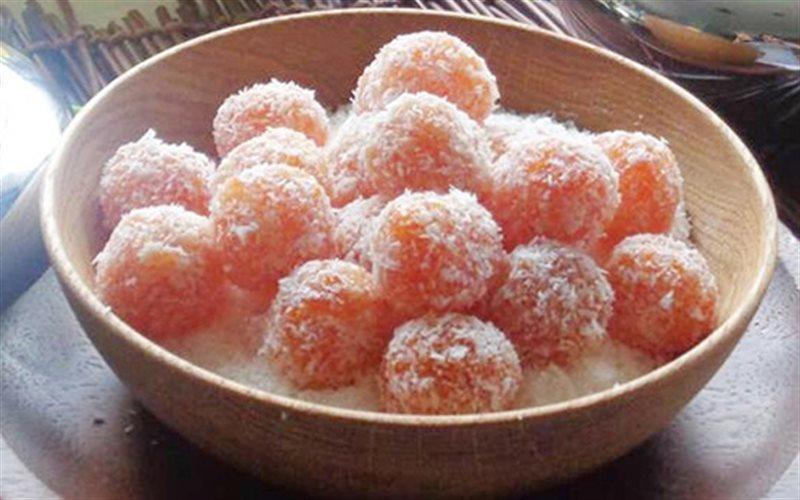 Cách làm Mứt Cà Rốt Viên Dừa thơm ngon cho ngày Tết