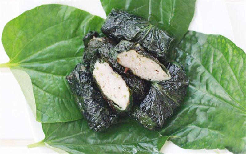 Cách làm Chả Lá Lốt Cuốn Thịt kết hợp nhân tôm ngon tại nhà