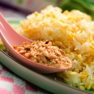 Cách nấu Xôi Đậu Xanh ăn cùng với muối đậu phộng thơm ngon