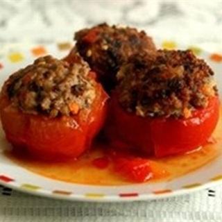 Cách làm cà chua nhồi thịt thơm ngon