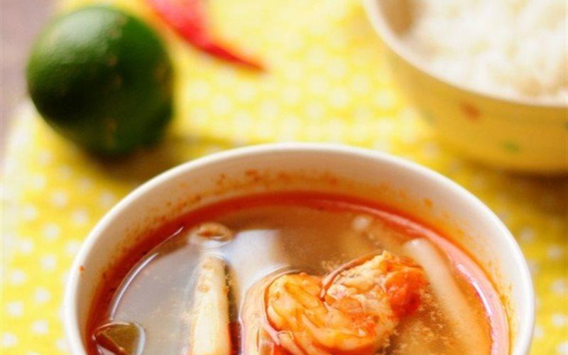 Cách Làm Canh Tom Yum Goong Chuẩn Vị Thái Cực Ngon