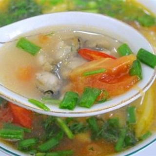 Cách Nấu Canh Hàu | Cùng Thơm Và Cà Chua, Cực Ngon